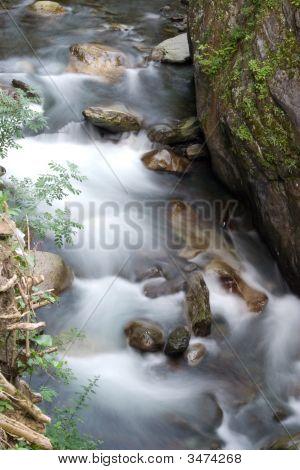 Slow Exposure Mountain Stream