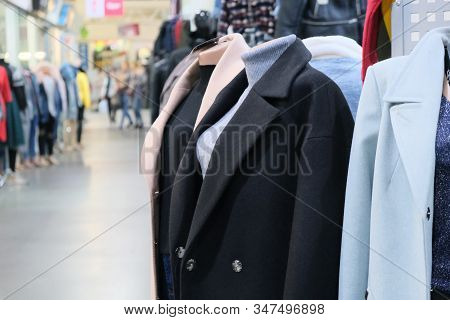 Mannequin In Female Black Formal Style Suit. Female Classic Office Garment. Ladies Classy Outfit.