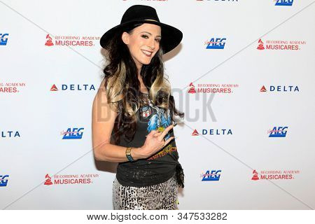 LOS ANGELES - JAN 24:  Calico Cooper at the 2020 Muiscares at the Los Angeles Convention Center on January 24, 2020 in Los Angeles, CA