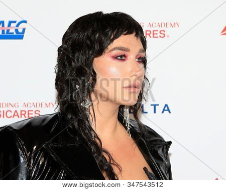LOS ANGELES - JAN 24:  Kesha at the 2020 Muiscares at the Los Angeles Convention Center on January 24, 2020 in Los Angeles, CA