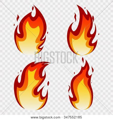 Fires Image, Hot Flaming Ignition, Flammable Blaze Heat Explosion Danger Flames Energy Vector Concep