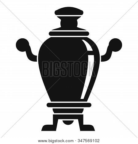 Home Samovar Icon. Simple Illustration Of Home Samovar Vector Icon For Web Design Isolated On White