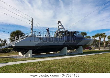 Ft. Pierce,fl/usa-1/27/20: The Mk V Is A Medium Range Special Operations Assault Craft Used By Navy