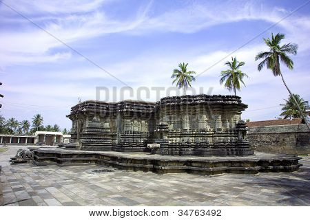 The Chennakeshava Temple,at Belur, Karnataka, India