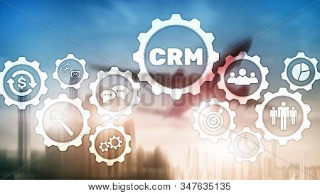 Business Customer Crm Management Analysis Service Concept. Relationship Management