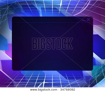 Window Technology Concept Background
