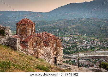 Byzantine Church On The Hilltop, Berat, Albania