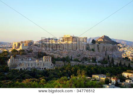 The Acropolis Of Athens
