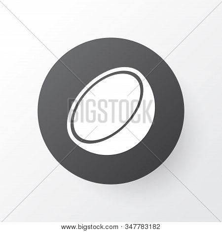 Cocoanut Icon Symbol. Premium Quality Isolated Coco Element In Trendy Style.