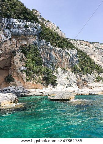 Costa De Baunei, Ilha De Sardenha, Itália