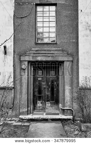 Entrance To An Old Building At Tallinn, Estonia. The Building Has Been Quite Awesome, But It Has See