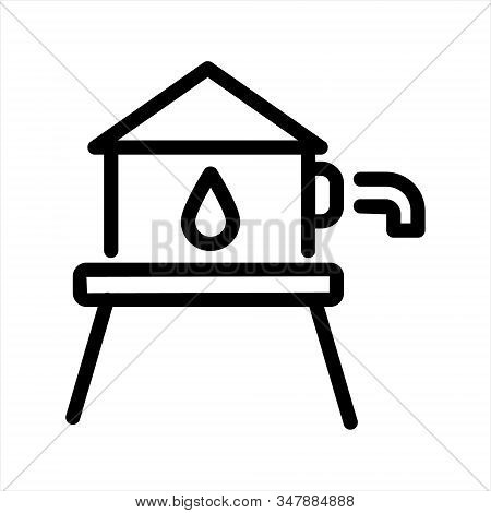 Reservoir Tank Icon Symbol Illustration Design  Sign Symbol