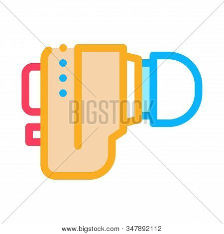 Hearing Aid Icon Vector. Outline Hearing Aid Sign. Isolated Contour Symbol Illustration