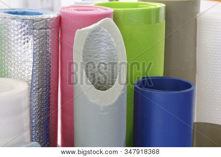Plastic Products. Manufacture Of Plastic Products. Polymer Plant For The Production Of Necessary Goo
