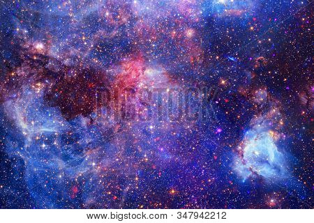 Awesome Galaxy. Science Fiction Wallpaper. Elements Of This Image Furnished By Nasa.
