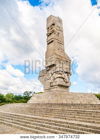 Westerplatte Monument Commemorating The First Battle Of Second World War, Gdansk, Poland