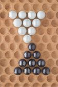 Two sets of Marbles as Design Elements poster