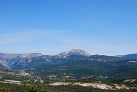 The Mountains Of Provence In France