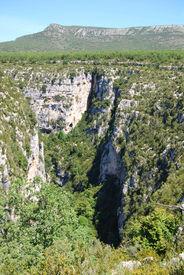 Canyon At The Gorge Du Verdon