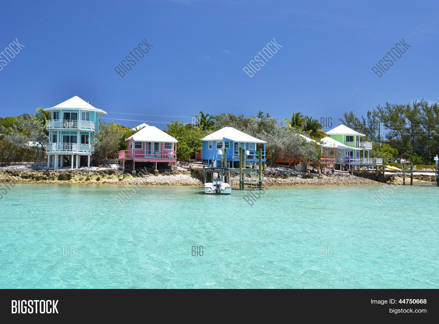 Staniel Cay Yacht Club Image & Photo (Free Trial) | Bigstock