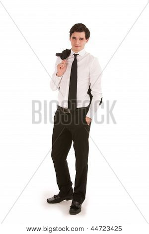Casual Relaxed Businessman