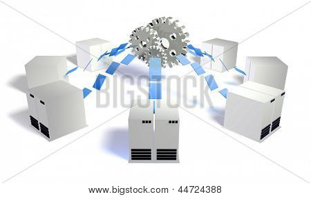 Database Server Management System With Central DB