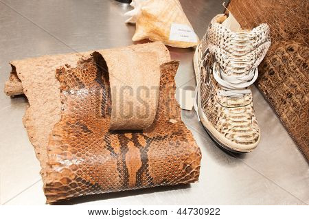 Forbidden Merchandise Made Out Of Piton Skin