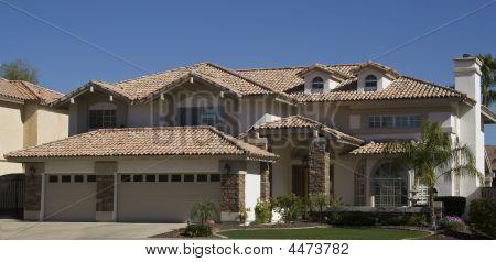 Modern Adobe Home In Arizona