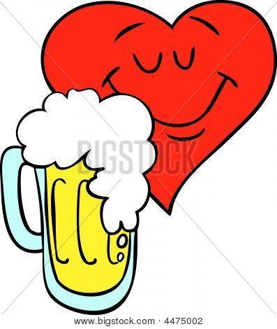 Beer Loving Heart
