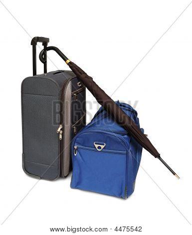 Travel Bags And Umbrella