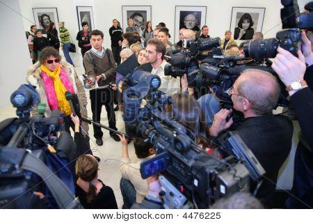 Interview In Showroom