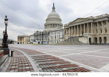 Washington DC, US Capitol building east facade
