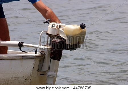 Photo of Outboard motor