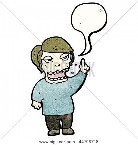 gross belching man cartoon