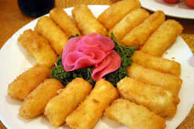 Chinese Seafood Croquettes