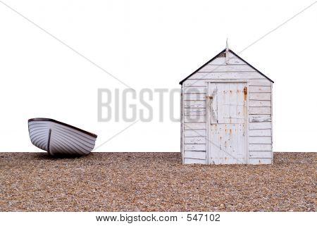 Boat And Hut