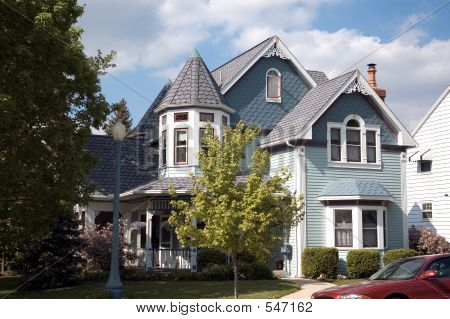 Queen Anne Victorian Home