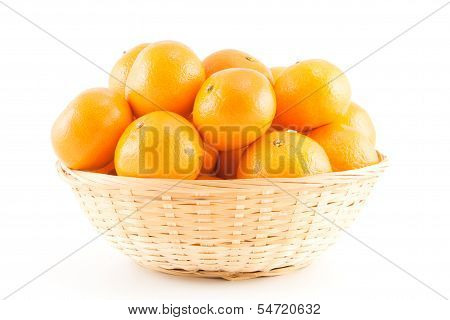 Mandarins In The Basket