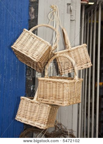Traditional Whicker Baskets