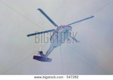 Rescue Helicopter Firefighting