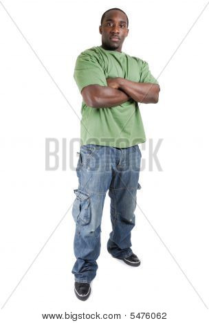 Confident Student With Arms Crossed
