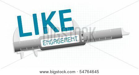 Like engagement