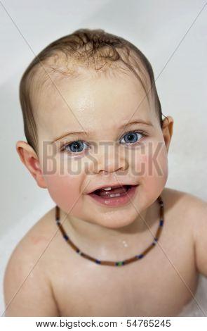 Baby In Bath