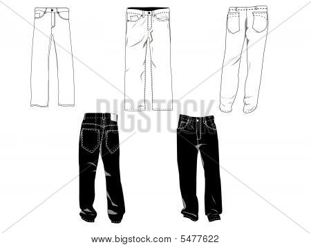Pants Template