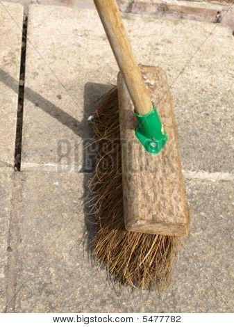 Broom - Brushing Up Outside.