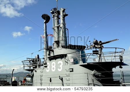 USS Pampanito, a Balao-class diesel-electric submarine