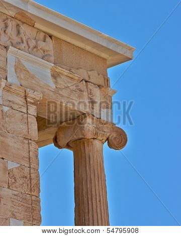 Temple of Athena nike Acropolis of Athens Greece