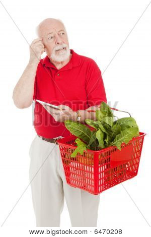 Senior Shopper - Forgetful