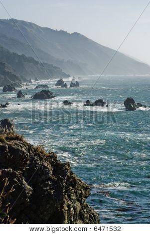 California coast line near big sur