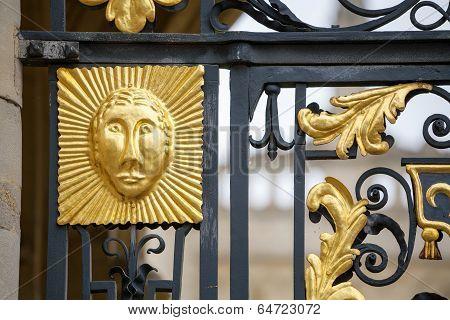 Gate Decoration. Oxford, England